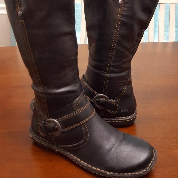 boc Shoes   Black Born Boc Boots   Poshmark